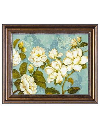 Wohnzimmer Anstrich | Zyear Moderne Weisse Blumen Anstrich Stromzahler Kasten Dekorative
