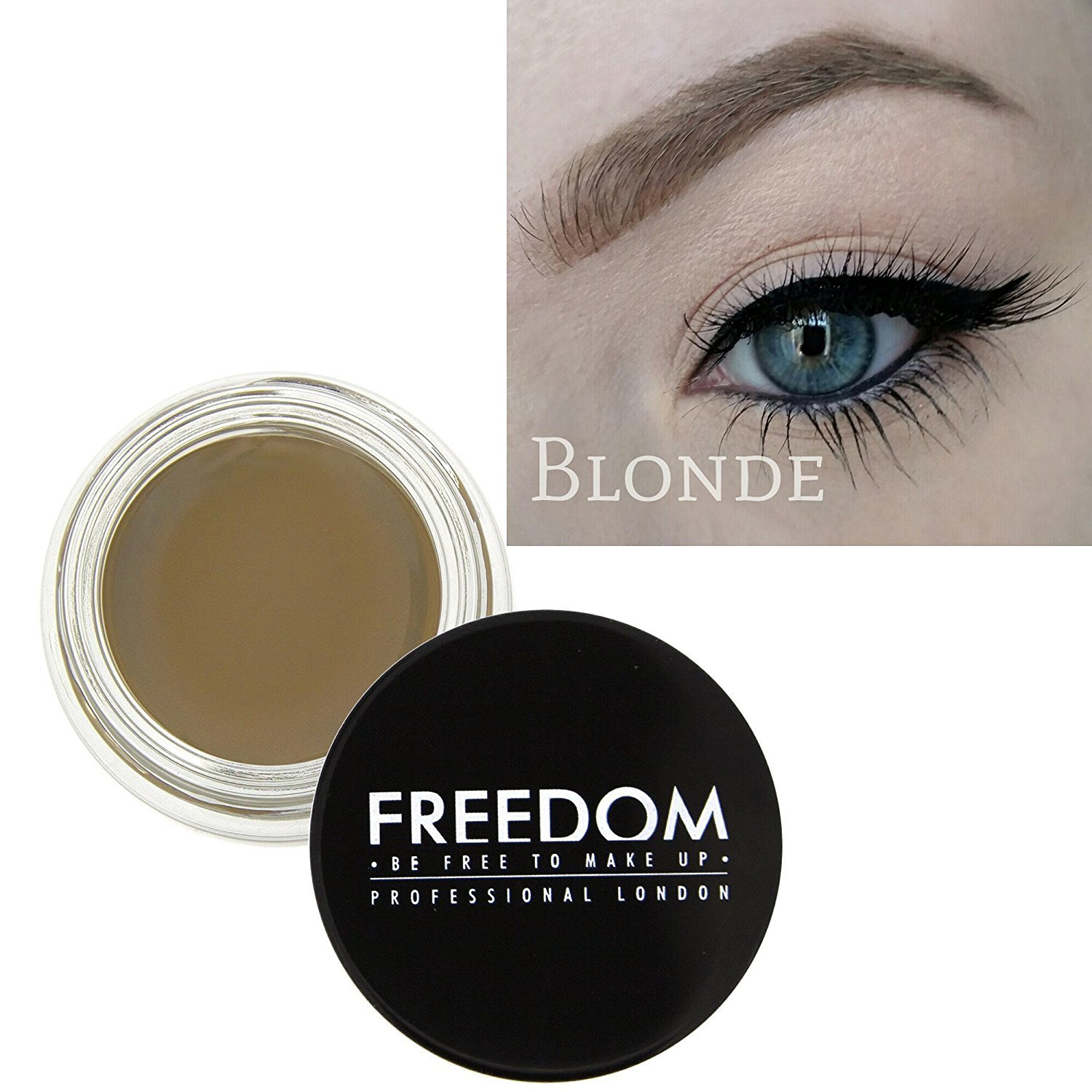Freedom Makeup Eyebrow Definition Brow Pomade Dark Brown Amazon
