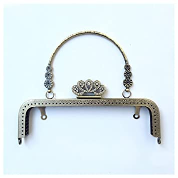 Amazon.com: ownstyle Corona cierre Metal Frame – Monedero ...