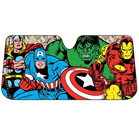 Avengers Thor The Incredible Hulk Iron Man Captain America Retro Marvel  Comics Auto Car Truck SUV e666805a3d8