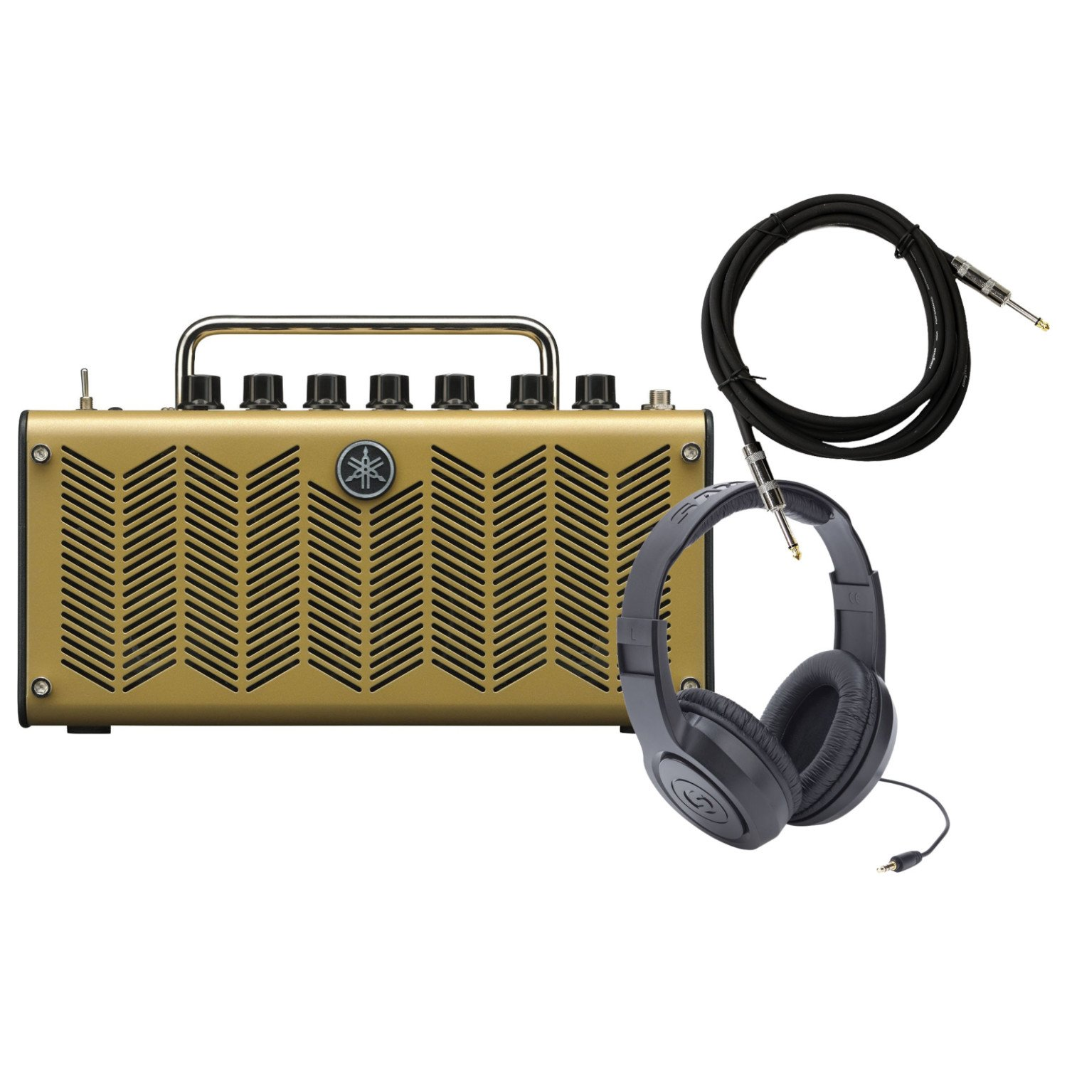 Yamaha THR5A ACOUSTIC 10-watt (5W+5W) Stereo Amplifier w/ Cubase AI6, Headphones, and Cable