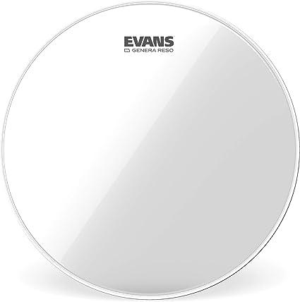 Evans Resonant Black Drumhead 6 Inch
