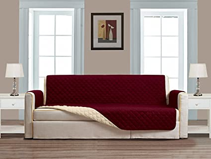 Grand Linen Reversible Couch Cover 110\