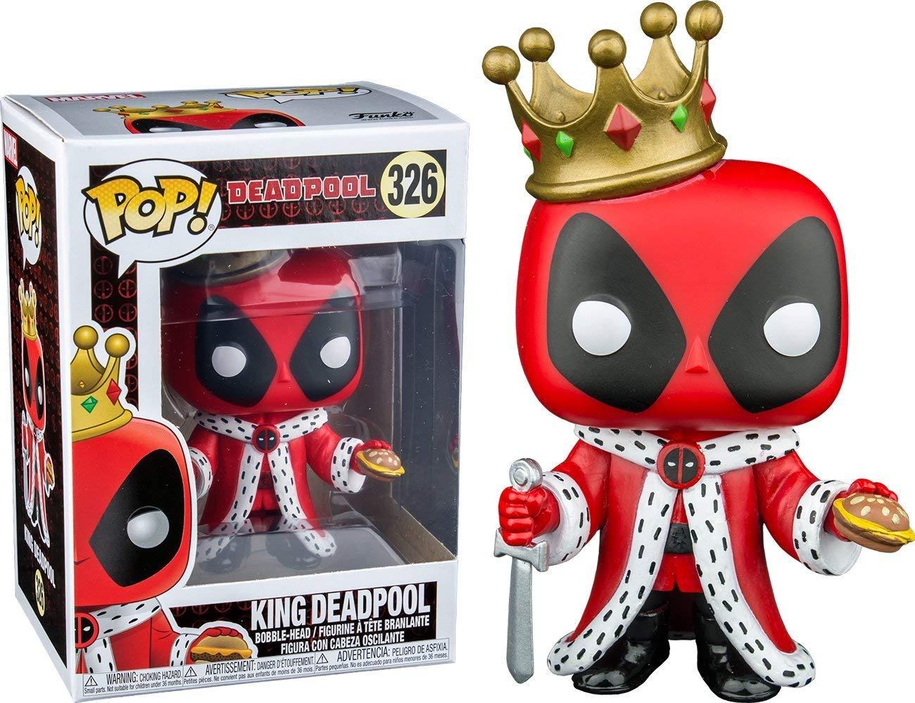 Funko Pop! Marvel Deadpool King,