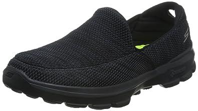 Men's Skechers GO Walk 3 - Fitknit, Black/Grey, ...