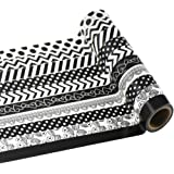 Edgeam - Set di 10 adesivi ornamentali con motivo Washi per bricolage