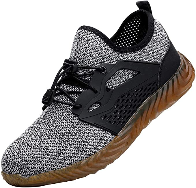 Zapatillas Trail Running Hombre Ligeros Comodos Malla Transpirable Zapatos de Seguridad Trabajo S3 con Puntera de Acero con Suela Blanda Trail Running Yvelands: Amazon.es: Ropa y accesorios