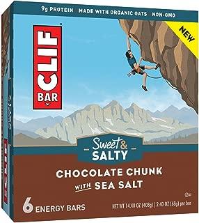 product image for Clif Bar Sweet & Salty Energy Bars - Chocolate Chunk With Sea Salt, 14.40 Oz