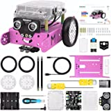 Makeblock mBot Pink Robot Kit, Robot Toys for Girls, Robotics Kit with Arduino/Scratch Coding, Remote Control, Building toys,