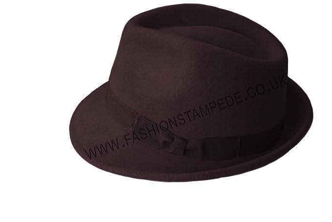 100% Wool Trilby Hats f7c2106f1e84