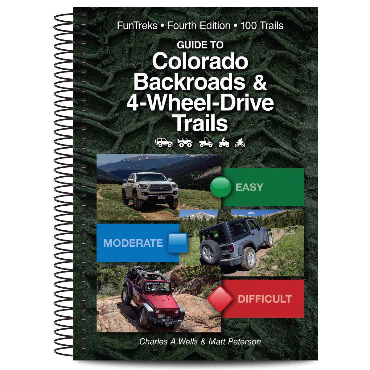 Guide to Colorado Backroads & 4-Wheel-Drive Trails, 4th Edition by Funtreks Inc