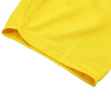 SODIAL Weltcup Maenner Sportswear Fussball Belgien Shirt Breathable Kurzarm Shirt Trikots Uniformen Paar Fussball Kit Shirt Trainingsanzug (Maenner,