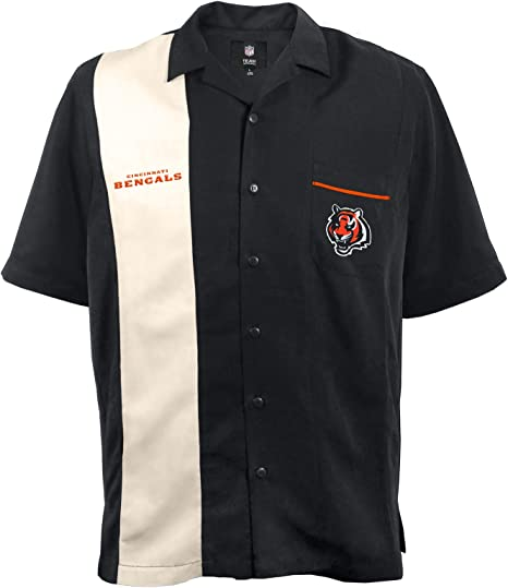 NFL Bowling Camisa - 300641-BENG-XXXL, 3-x-Large, Negro: Amazon.es: Deportes y aire libre