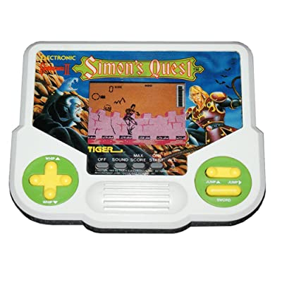 Castlevania II Simon's Quest Tiger Electronic Handheld Game: Toys & Games