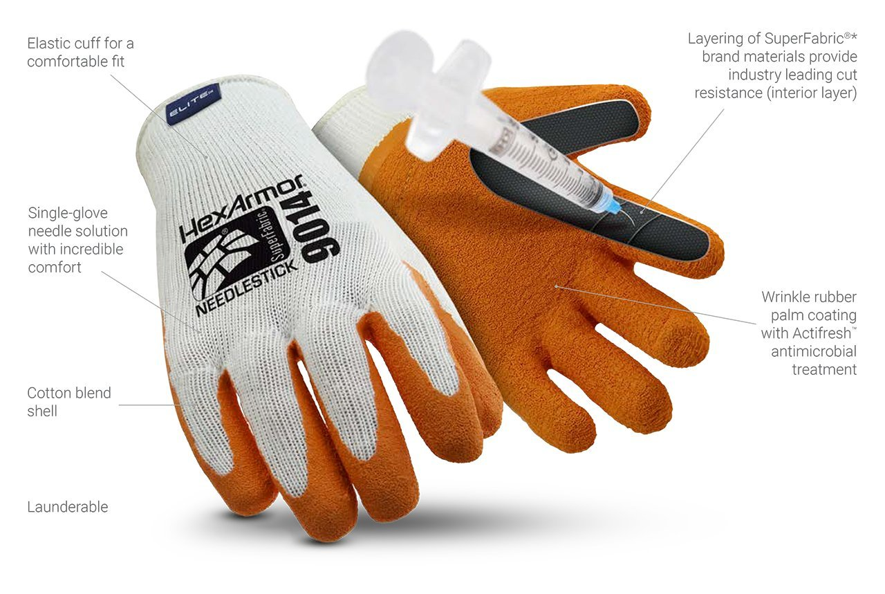 DayMark SharpsMaster Needle Protection Glove, Large, Pair by DayMark Safety Systems (Image #3)