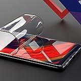 Xiaomi Mix 2全面保護フィルム (非強化ガラスフィルム) ONICO自己修復ができる液晶保護フィルム 3D曲面 ケースと干渉せず 高透過率 スムースタッチ 耐久性 撥油性 指紋防止 (表面)