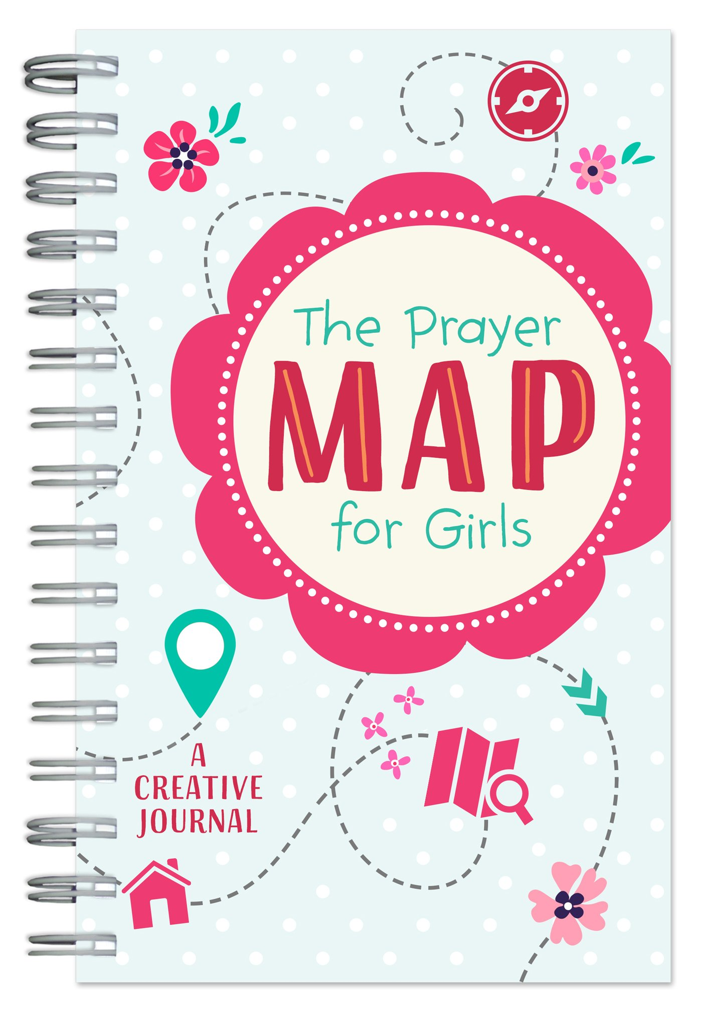 The Prayer Map for Girls: A Creative Journal Text fb2 book