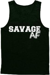 f03b01a9fd7551 Amazon.com  Savage 00 - Jersey Sports Funny Badass Men s Tank Top ...