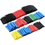 560PCS Heat Shrink Tubing 2:1 Eventronic Electrical Wire Cable Wrap Assortment Electric Insulation Tube Kit with Box(5 colors/12 Sizes)