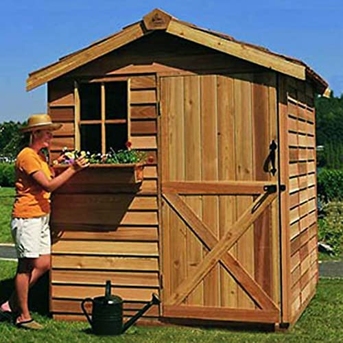 8 x 12 ft. Gardener Storage Shed