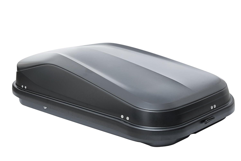 VDP Dachbox JUEASY320 schwarz gl/änzend abschlie/ßbar 320 Ltr Dachtr/äger Menabo Tema f/ür Audi A3 Sportback 5T/ürer ohne Reling 2004-2012 Aluminium
