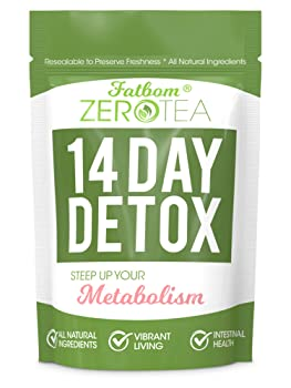 FATBOM Zero Tea 14-Day Detox Tea
