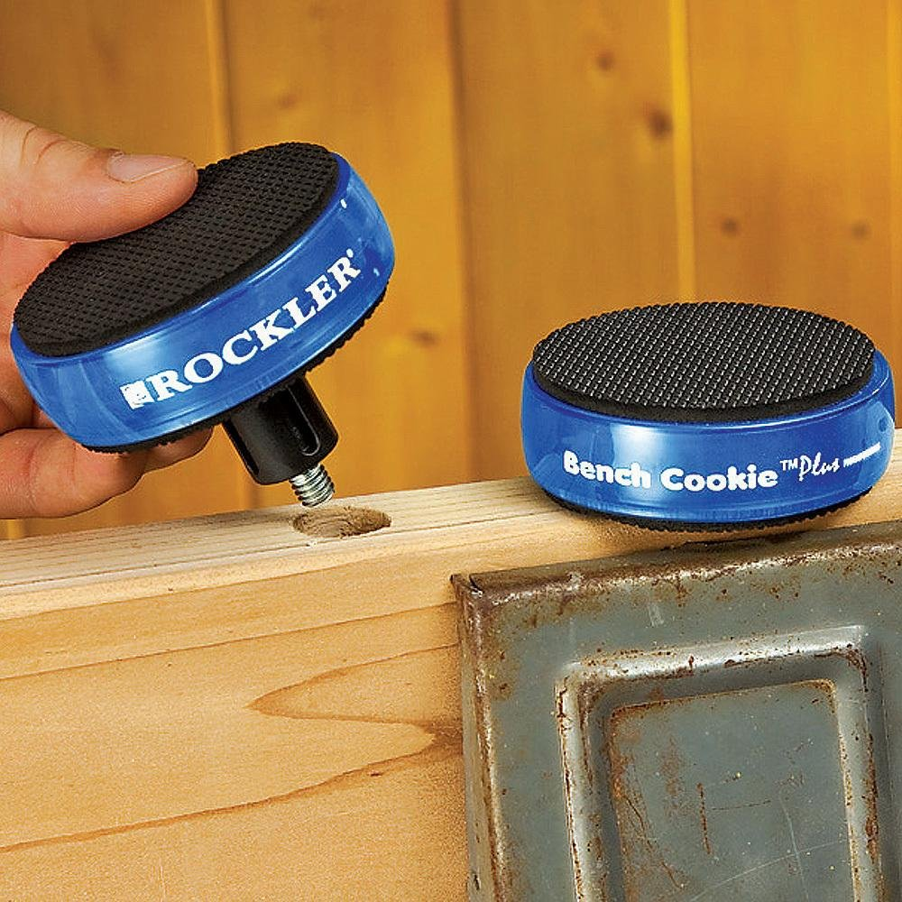 Bench Cookie Plus Work Grippers with Bench Cookie Risers by Rockler (Image #2)