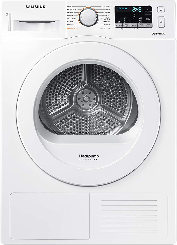 Samsung DV90M5000KW/ET - Secadora, 9 kg, color blanco