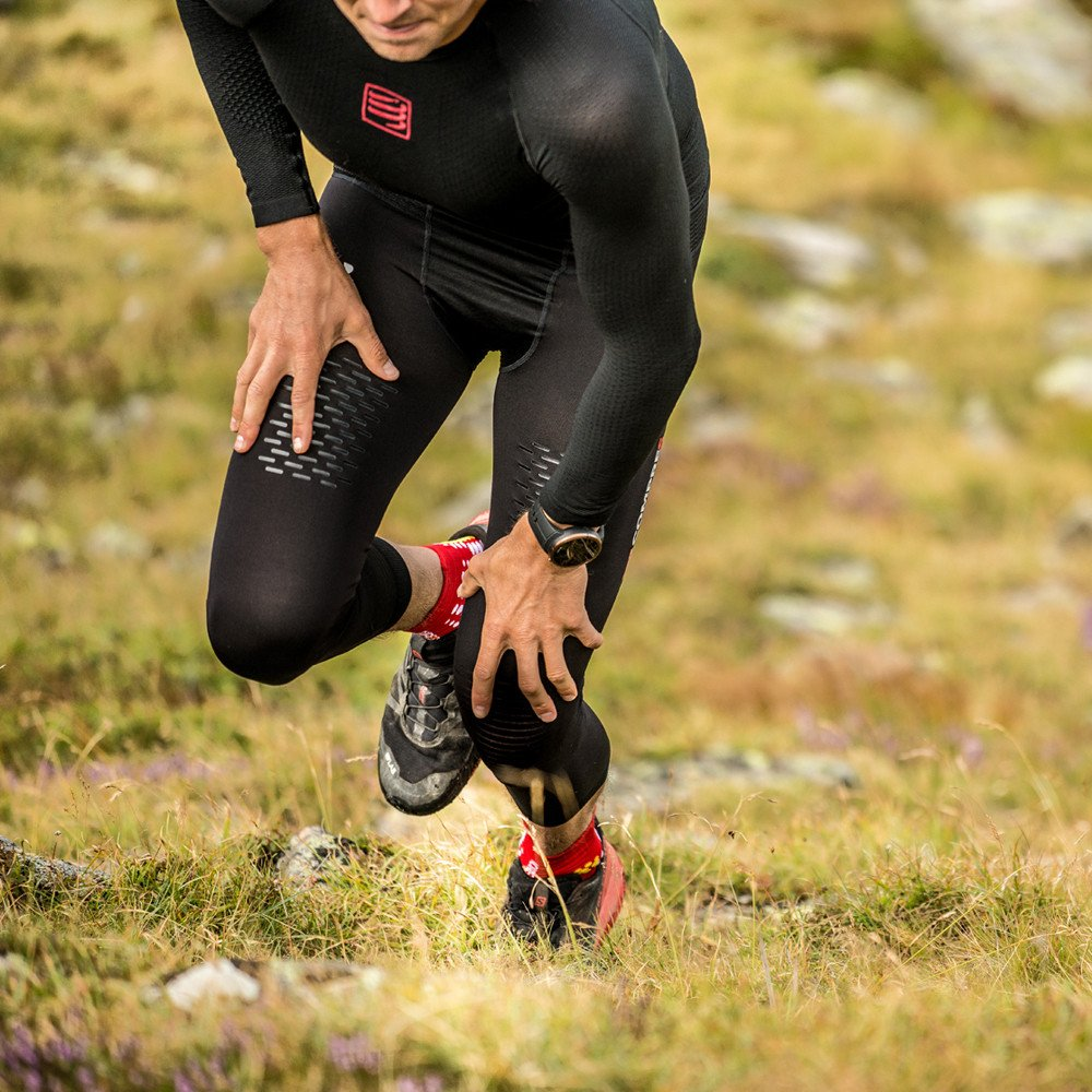 Compressport Under Control Trail Running Full Tight - SS19 - Medium - Black by Compressport (Image #7)