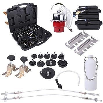 Yosoo Válvula de freno y válvula hidráulica, embrague de tubo, Bomba de vacío, Comprobador de vacío, ...