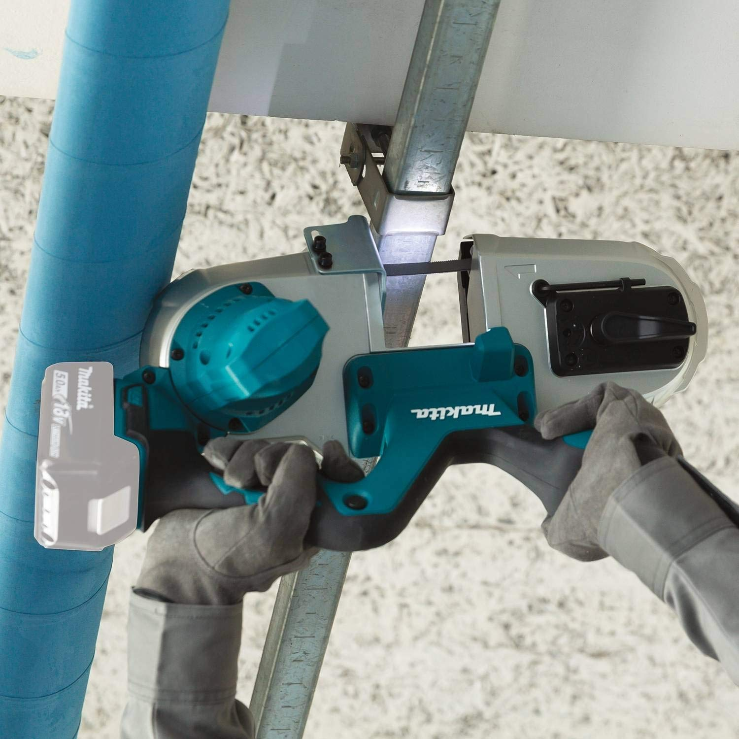 Makita XBP03Z 18V LXT Compact Band Saw, Tool Only by Makita (Image #4)