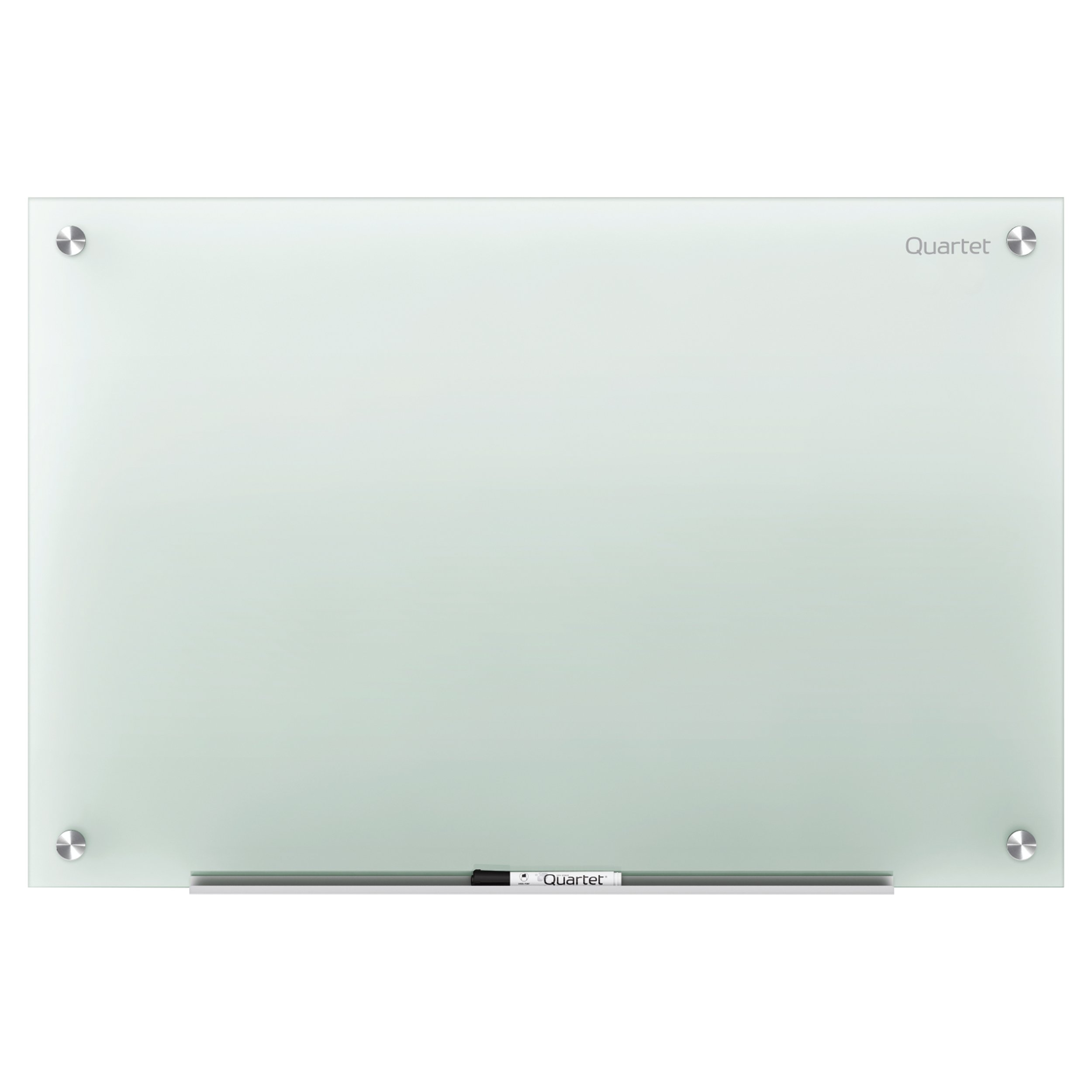 Quartet Glass Dry Erase Board, Whiteboard / White Board, 48'' x 36'', Frosted Surface, Non-Magnetic, Frameless, Infinity (G4836F)