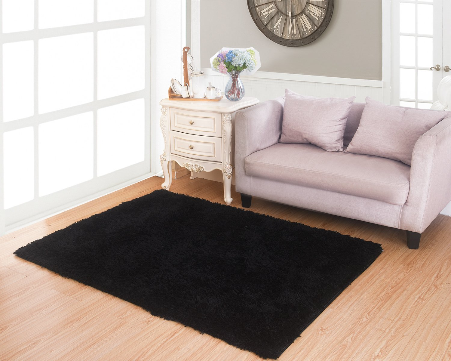 Living Room Carpets Amazoncom Living Room Bedroom Rugs Mbigm Ultra Soft Modern Area