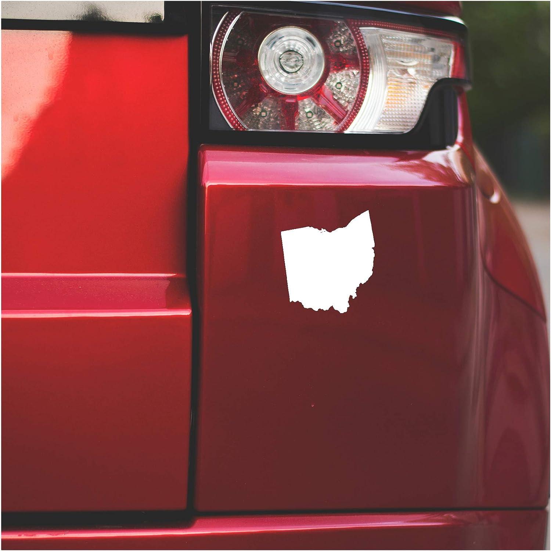 Underground Printing Ohio Silhouette - USA State Pride Home Vinyl Decal Sticker | 5