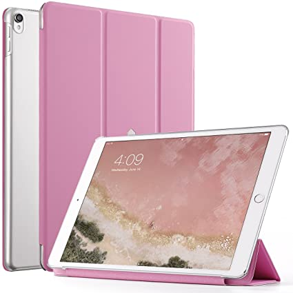 huge discount 86372 fcc04 iPad Air 3 (10.5 Inch 2019) Case, iPad Pro 10.5 2017 Case, Poetic SlimShell  Slim-Fit Trifold Smart Cover Stand Folio Case with Auto Wake/Sleep for ...