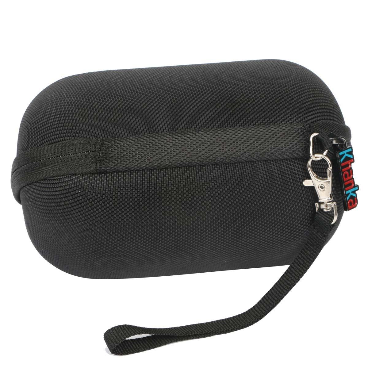 Khanka Hard Travel Case for Ultimate Ears WONDERBOOM Waterproof Super Portable Bluetooth Speaker - (Black)