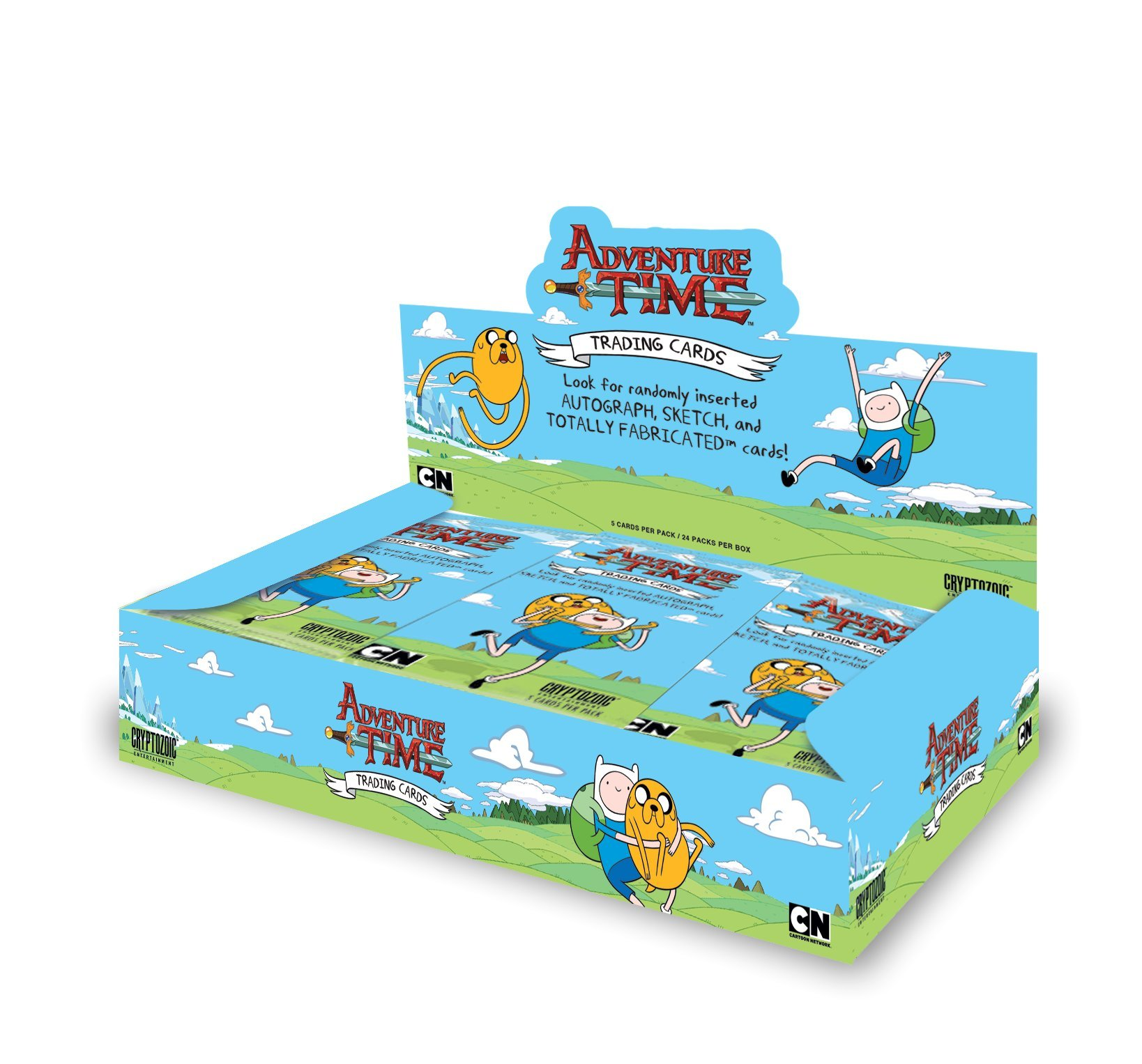 Adventure Time Trading Cards Booster Display