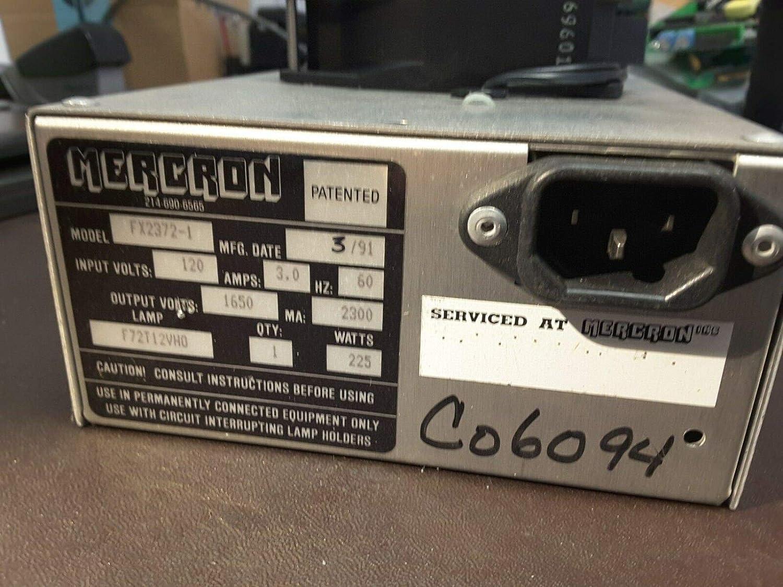 Venture Florida Electronics MERCRON Power Supply 120 VAC Model FX2372-1 Guaranteed Rare Used Sale $199