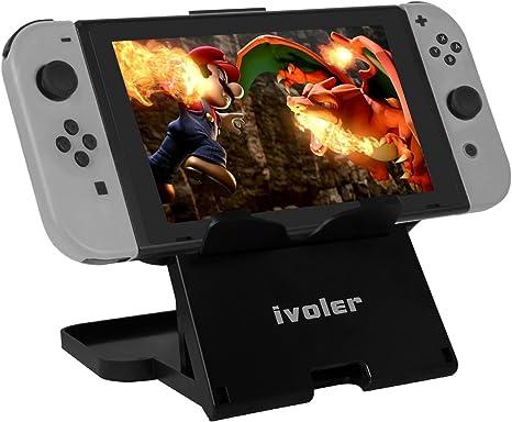 Nintendo Switch Playstand, iVoler Play Stand Soporte para Nintendo ...