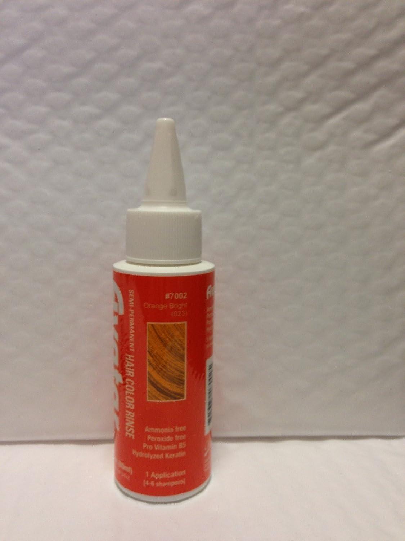 #7002 Orange Bright Semi Permanent Hair Color Rinse