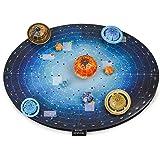 Juiet 3D Kit del Sistema Solar Ocho Planetas Rompecabezas para Niñas Niños - Gran Aprendizaje Presente