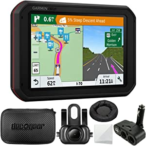 Garmin dezlCam 785 LMT-S GPS Truck Navigator with Built-in Dash Cam (010-01856-00) BC 35 Wireless Backup Camera + Hard EVA Case with Zipper, 7-inch + GPS Navigation Dash-Mount + More (Renewed)