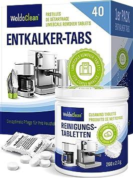 20 à 50 détartrants comprimés pour café vollautomaten à 16 G Machine à café Tabs