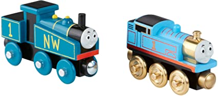 Fisher Price Thomas Friends Wooden Railway Thomas Engine Gift Pack