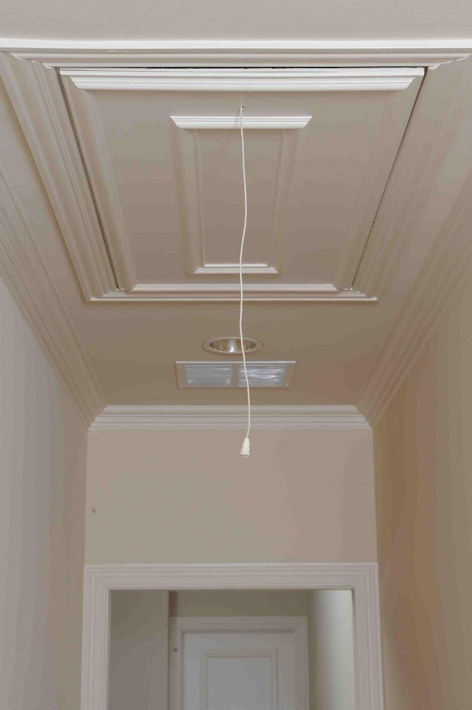 attic ease aepsp ladder pull system kit finish pewter amazon com