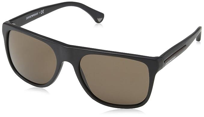 Emporio Armani Armani Jeans- 4035 - Lunettes de soleil Homme, black