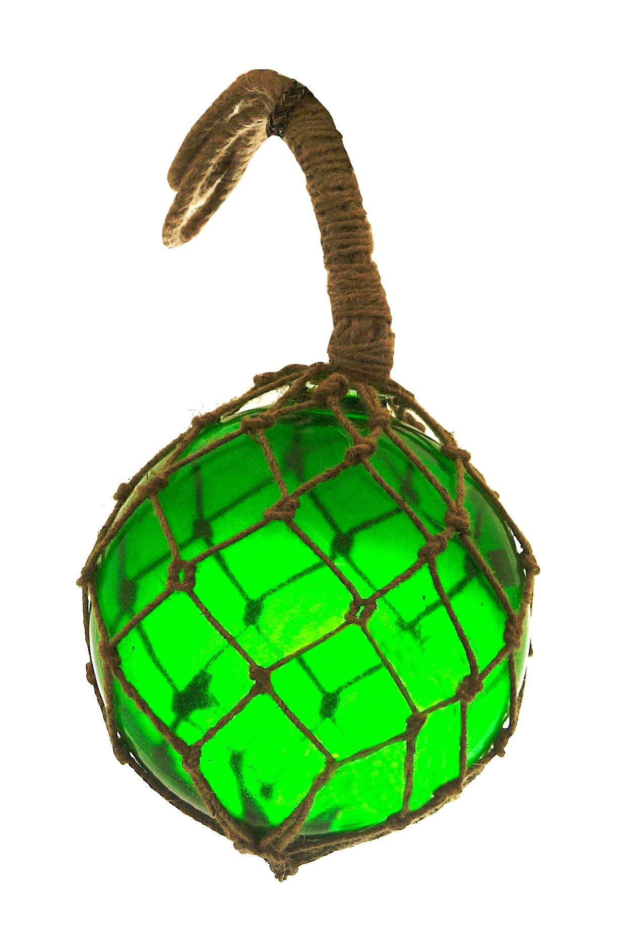 Nautical Specials MR 4801G-VC Nautical Collection Japanese Glass Floats Assorted Colors Family Fish Net Buoys Large Set (8'' Green) by Nautical Specials