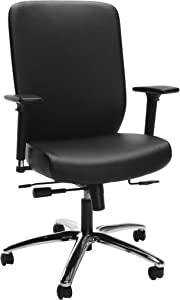 HON High-Back Executive Chair with Synchro-Tilt Control, in Black (HVL722)