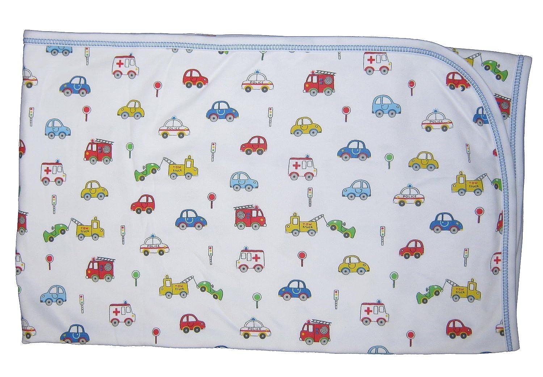 cheap Kissy Kissy Baby-Boys Infant Rush Hour Print Receiving Blanket supplies