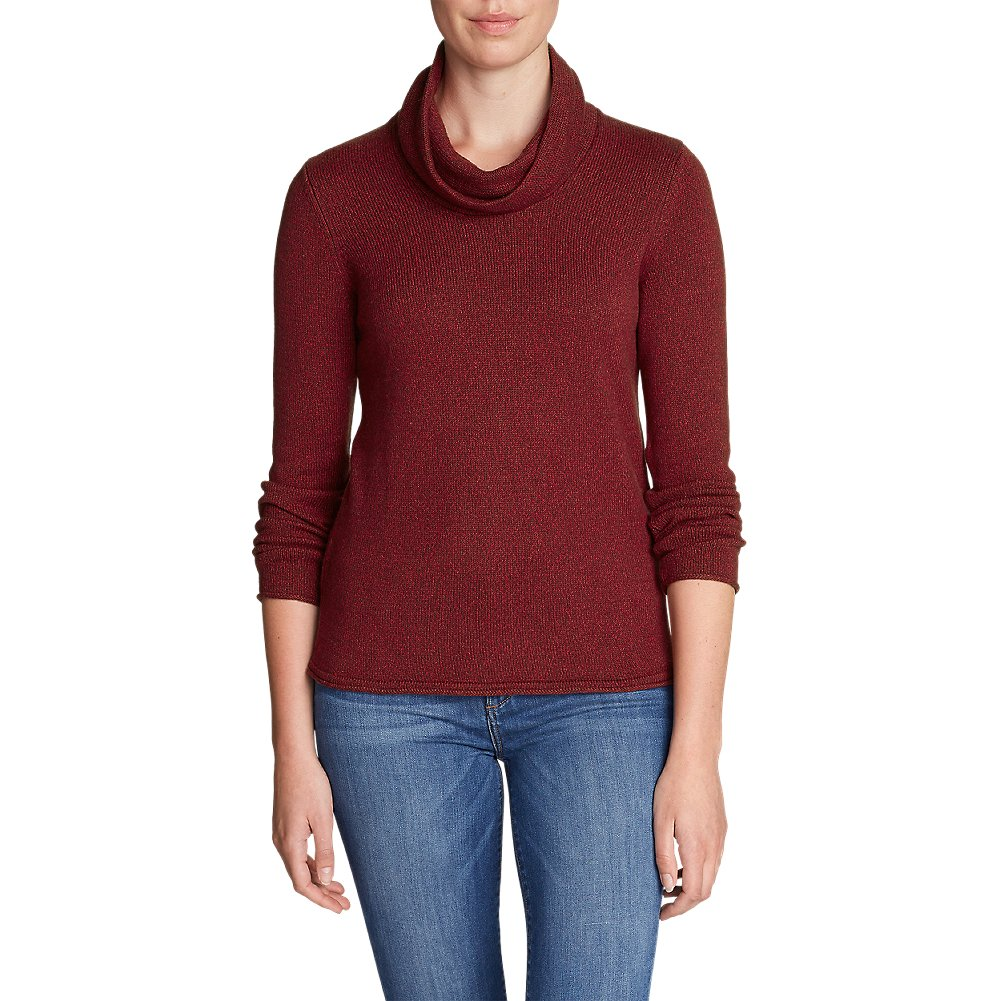 Eddie Bauer Women's Sweatshirt Sweater - Cowl-Neck 21003753